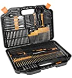 Vollplus 246Pcs Drill Bits Set and Driver Set for Drilling Wood Metal Concrete and Screw Drive, Combo Kit Storage in Hard Carrying Box, Accessories work with Black and Decker DeWalt Makita VPHT95246