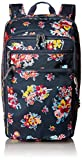 Vera Bradley Lighten Up Convertible Travel Bag, Tossed Posies