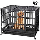 Best Heavy Duty Dog Crates - Heavy Duty Dog Cage Crate Kennel Playpen Strong Review