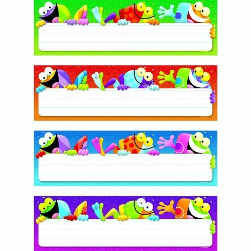 (Trend Frog-tastic Desk Toppers Name Plates Variety Pack by Trend)