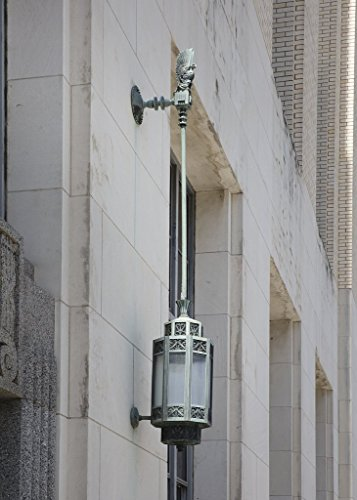 Photograph | Exterior light fixture. The Terminal Annex building, Dallas, Texas| Fine Art Photo Reporduction 44in x 66in