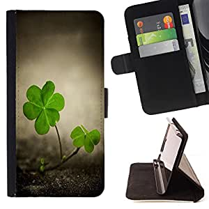 - Good Luck Lucky - - Style PU Leather Case Wallet Flip Stand Flap Closure Cover FOR LG Nexus 5 D820 D821 - Devil Case -