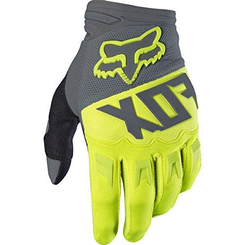 Fox Racing Dirtpaw Race Race Adult MotoX Motorcycle Gloves - Black/White