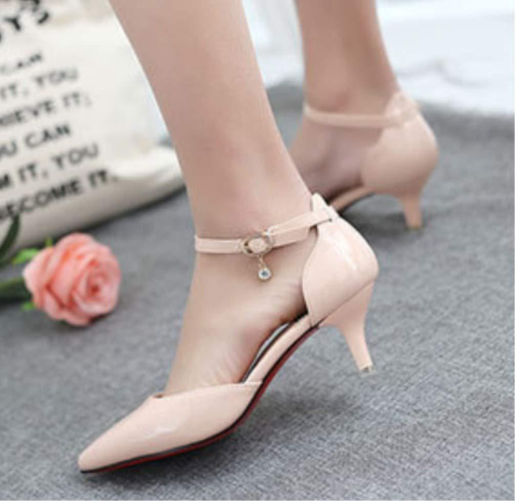 95b2bdb73616d Amazon.com: LIANGXIE Female Super High Heels-Sexy Pointy Sandals ...