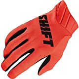 Orange Sz M Shift Racing Black Label Air Mainline Vented Gloves Motocross Gloves