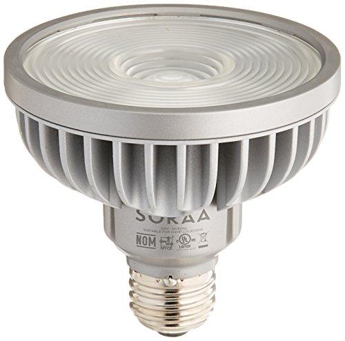 Bulbrite SP30S-18-60D-927-03 SORAA 18.5W LED PAR30S 2700K VIVID 60° Dimmable Light Bulb, Silver by Bulbrite