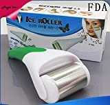Facial Muscles Headache - Angel Kiss Ice Roller for Face and Body Massager Puffy Eyes Reducer Soothe Acne Breakouts,Tightens Pores, Soothes Sore Muscles, Headache, Allergies, Puffiness, Redness - Stainless Steel-GREEN