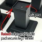 iPrimio Aluminum Bed Riser - 5.5 Inch