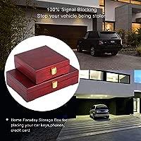 FirstGuard - Caja grande de Faraday para llaves de automóvil, caja ...