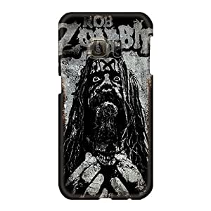 JacquieWasylnuk Samsung Galaxy S6 Best Hard Phone Cases Allow Personal Design Attractive Rob Zombie Pattern [fcR2082DzWQ]