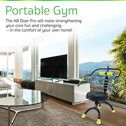 AB Doer 360 Kit, The Abs Workout Equipment for Total Core Exercise, Fat Burning, Toning and Fitness at Home 6