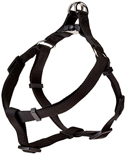 Petmate 11236 Step-in Harness, 3/4-Inch by 18-29-Inch, Black
