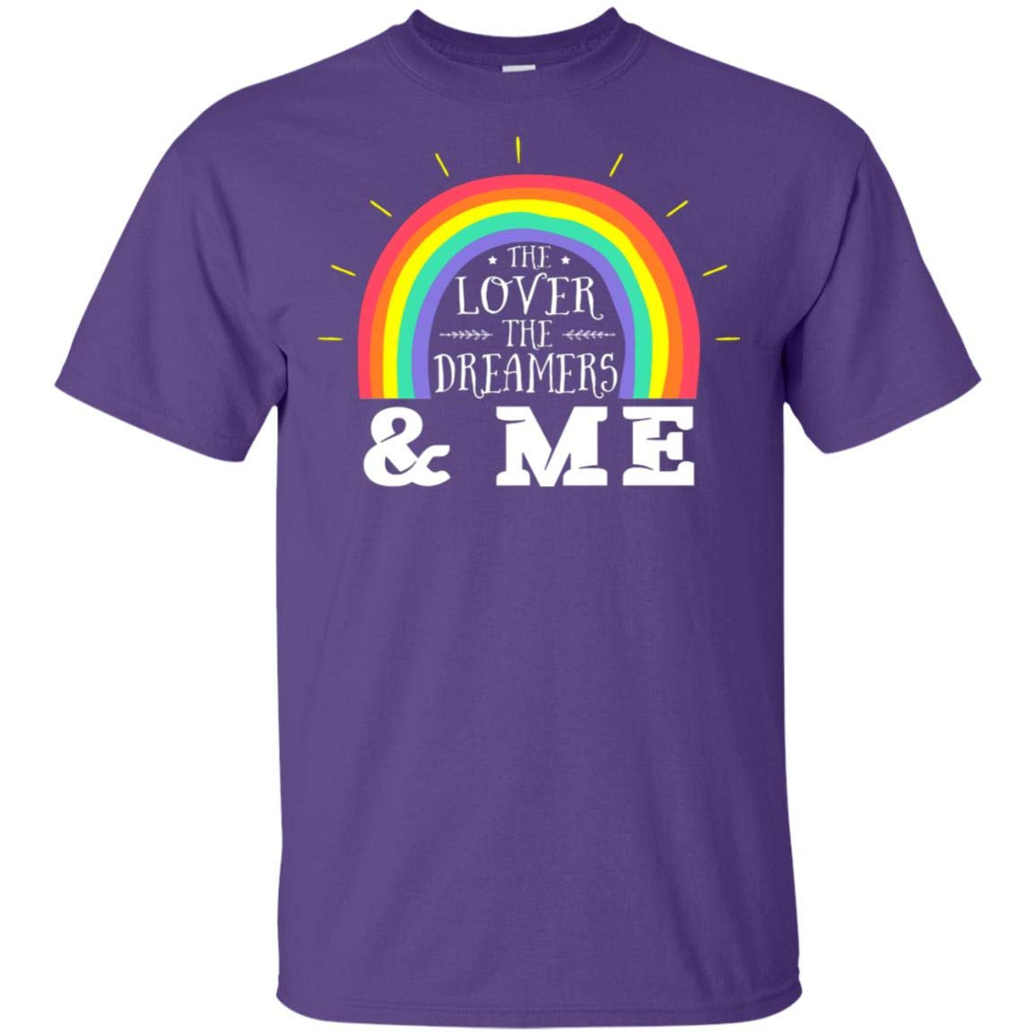 The Love R The Dreamers And Me Pride Lgbt T Shirt