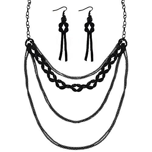 [Twinkle Metal Deluxe Bijouterie Set - Opera Irish Loops] (Homemade Archery Costume)