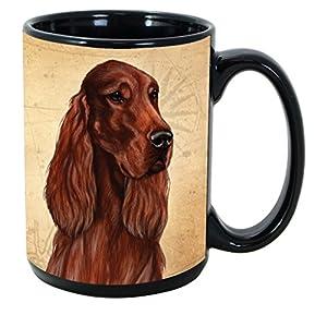 Imprints Plus Dog Breeds (E-P) Irish Setter 15-oz Coffee Mug Bundle with Non-Negotiable K-Nine Cash (irish setter 101) 8