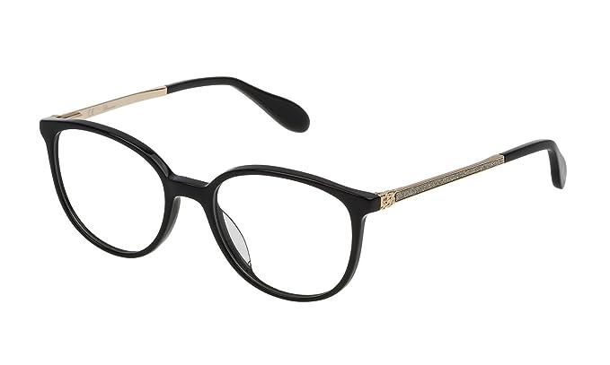 e132ba41c7e51 Blumarine - Monture de lunettes - Femme Noir Noir 50  Amazon.fr ...