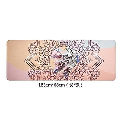 YOGA-HECSS Nouveau Yoga Mat Mince Section Pliante Portable Yoga Couverture Débutant Femelle Fitness Pad Shop Serviette