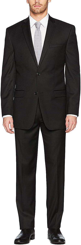 Adam Baker Men's Suit Slim-Fit 2-Piece Single Breasted Suit - Colors