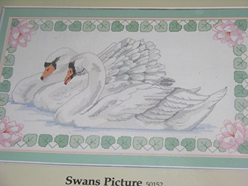 (Something Special Swans Picture Counted Cross Stitch Kit #5052)