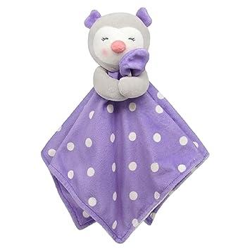 Giraffe Security Blanket or Elephant Plush Toy Snuggler New Gift Carters Bear