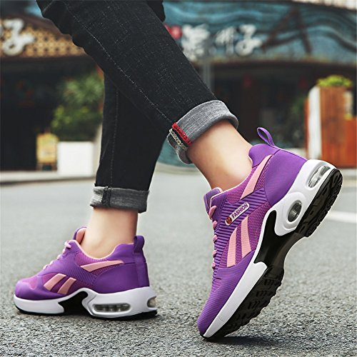 XUE Women's Shoes Tulle Spring Fall Comfort Sneakers Air Cushion Shoes for Casual Driving ShoesOutdoor Sport Running Shoes Wearable C 3IB2Cv9