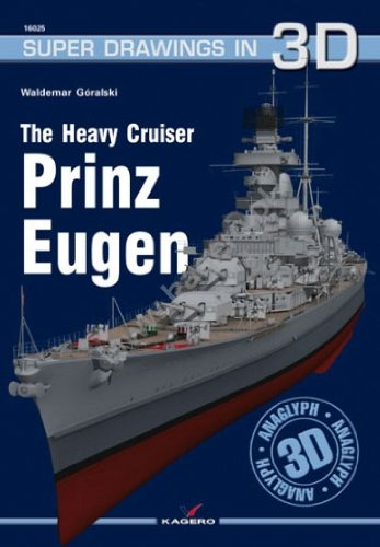 The Heavy Cruiser Prinz Eugen (Super Drawings in 3D)