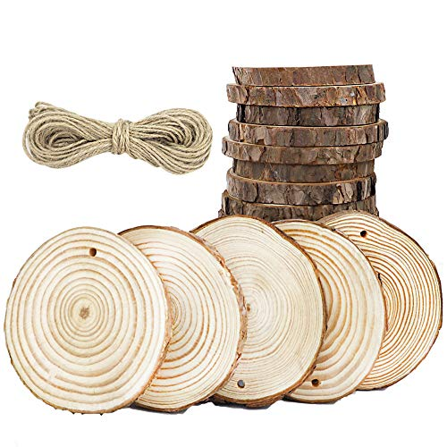 10 best wood ornament slices predrilled