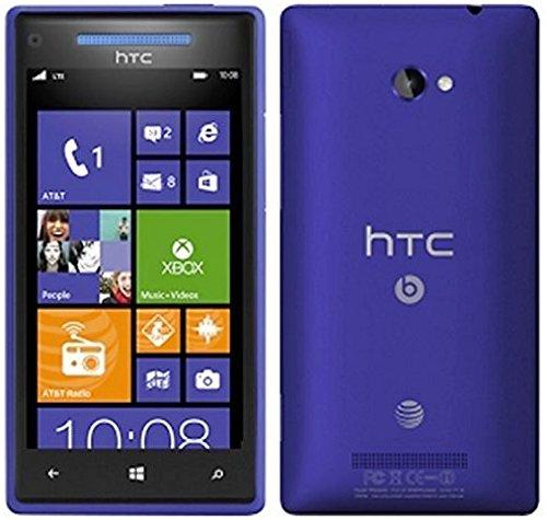 HTC 8X 8GB Unlocked GSM Windows 8 Smartphone - Blue (Htc Windows Phone Unlocked Gsm)