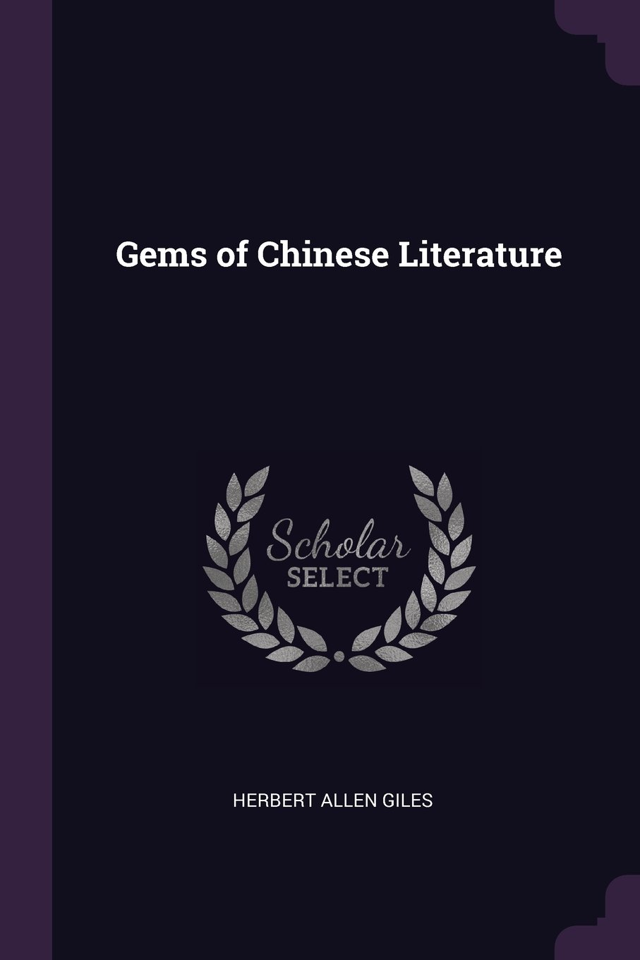 Gems of Chinese Literature pdf epub
