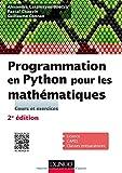 Programmation en Python pour les mathématiques - 2e éd.