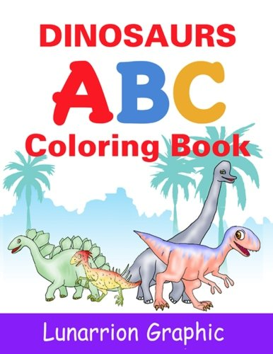 Dinosaurs ABC: Coloring Book for Kids