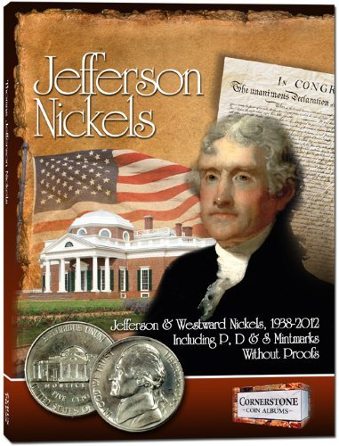 (By Staff of Zyrus Press Jefferson Nickels Album, 1938-2012 P&D (Cornerstone Coin Albums) (1st First Edition) [Board book])