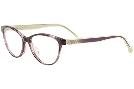 81924f5428b8 Image Unavailable. Image not available for. Color: CH Carolina Herrera  Eyeglasses VHE677 VHE/677 06XD Purple Optical Frame 53mm
