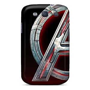Shockproof Hard Cell-phone Cases For Samsung Galaxy S3 With Unique Design Trendy Metallica Image AlissaDubois