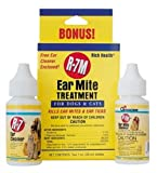 Miracle Care by Miraclecorp/Gimborn R-7M 1-Ounce with Bonus 1-Ounce Ear Mite Treatsment Kit for Dogs and Cats, My Pet Supplies