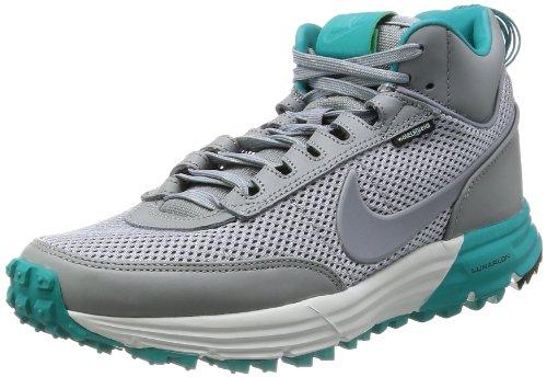 Nike Lunar Caja abierta Sneakerboot Sp Mens Hi Top Botas de las zapatillas de deporte 646103 Formado stealth turbo green 003