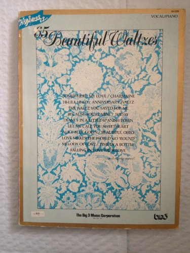 Happiness Is.. 65 Beautiful Waltzes (vocal/piano) (Last Date Sheet Music)