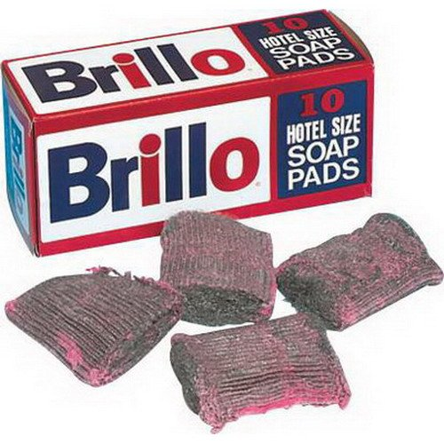 Disco Brillo Steel Pink Wool Soap Pad, 4 x 4 inch - 10 per pack - 12 packs per case. by Disco
