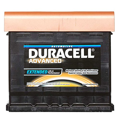 Duracell Advanced DA50 Car Battery 12V Type 012 50Ah 450cca 212x175x190 0/1 B13