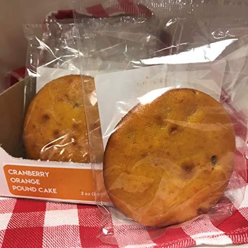 - Magic Flavors Pound Cake Singles (Cranberry Orange)
