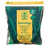 Easy Gardener 801 Landscape Fabric Plastic Install Pegs, 10-Pack