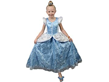 Handmade Princess Costume Baby Girlsu0027 Cinderella Classic Style Dress 2 Years Blue Sky With White  sc 1 st  Amazon.com & Amazon.com: Handmade Princess Costume Baby Girlsu0027 Cinderella Classic ...