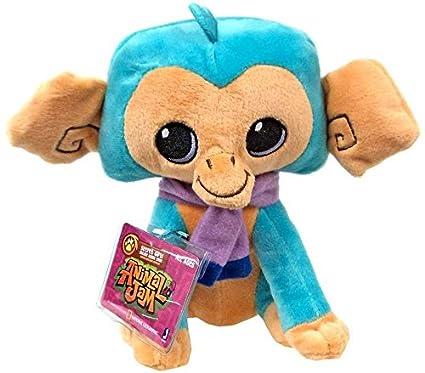 Amazoncom Animal Jam Turquoise Monkey 6 Plush Toys Games