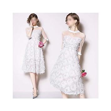 ZSRHH-Falda Vestido de Mujer Vestido de Princesa Vestido de ...