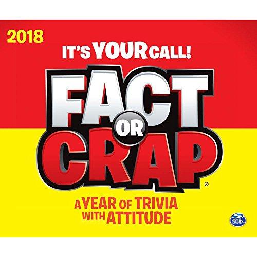 2018 Fact or Crap Desk Calendar