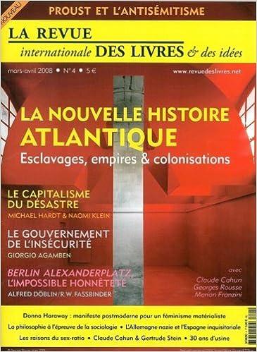 La revue internationale des livres & des idées, N° 4 : pdf, epub ebook
