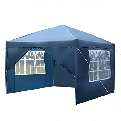TiTa-Dong 10x10 FT Canopy Tent,Portable Commercial Instant Shelter Canopies Tents with Carry Bag,for Party Wedding Commercial Event Market stall: Industrial & Scientific