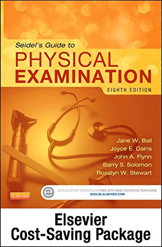 Physical Examination and Health Assessment Online for Seidel's Guide to Physical Examination (Access Code, and Textbook Package), 8e