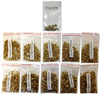100 Schlage Bottom Pin #1 Rekey Pin Rekeying Pin Kit