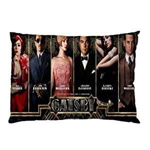 Miniwin Gatsby Pillowcase Pillow Case Two Side Cover Rectangle Pillowcases by ruishername